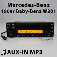 Mercedes Special MF2297 Aux-In MP3 190er Radio C-Class Cd-R Jack Car Radio