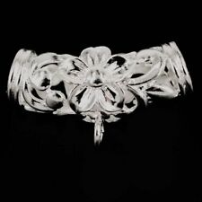 Unbranded Silver Plated Plastic Fashion Jewellery