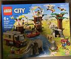 NIB!! LEGO City Wildlife Rescue Camp 60307 Building Kit (503 Pieces) Free Ship!