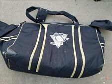 Pittsburgh Penguins Jrz Player Size Padded Nhl Equipment Bag 32x16x20 Black