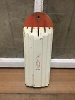 Vintage Nuway Wooden Knife Holder Old Farm House Kitchen Decor Paper Label