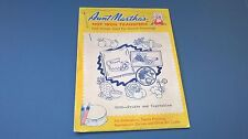 Aunt Martha's Hot Iron Transfers Fruits and Vegetables #3632