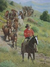 """Cowboy Dream"" Wayne Baize Limited Edition Western Print"