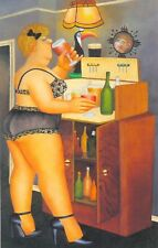 DRINKIES by BERYL COOK - larger print - NOT a card