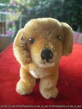 "Original Steiff Dog : Bazi . 10 cm .1950-67 . 4 "" . No Id"