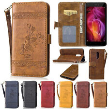 Retro Rose Wallet Leather Flip Case Cover Card Holder For Xiaomi Redmi Note 3 4