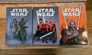 Star Wars: Legacy Hardcovers (Complete Set: Books 1,2&3) Dark Horse OOP