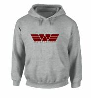 Cartoon Weyland corp Print Sweatshirt Unisex Hoodies Graphic Hoody Hooded Tops