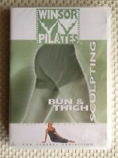 WINSOR PILATES BUN & THIGH ~ RARE ~ BRAND NEW & SEALED DVD