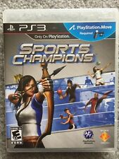 Sports Champions (PlayStation 3, PS3), PS Move Required (Excellent Condition)