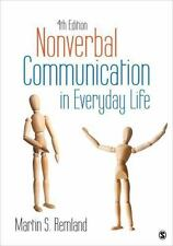 Nonverbal Communication in Everyday Life, Remland, Martin S., Good Book