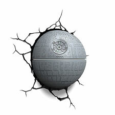 3D FX Deco LED Star Wars Death Star Night Light Home Household Wall Decoration