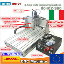 【IT】3 Axis 6040 Z-S80 1500W Mach3 CNC Router Engraving Milling Machine Kit 220V