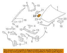 PORSCHE OEM 84-13 911 Hood-Emblem badge name plate Gasket 7L5853611B