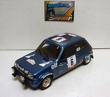 Renault 5 Alpine talla 2 #6 Tour de Corse 1979 1 18 Ottomobile