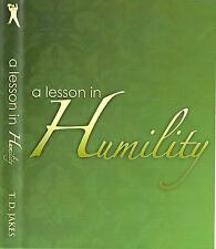 A Lesson in Humility - Single CDs - Bishop T.D. Jakes - Sale !