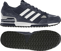 ADIDAS ORIGINALS ZX 750 TRAINERS NAVY/WHITE MENS SIZES UK 7 to 12