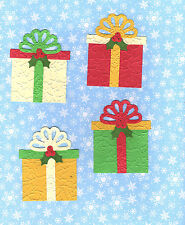 Quickutz Large Christmas Package Die Cut Embellishments Sizzix