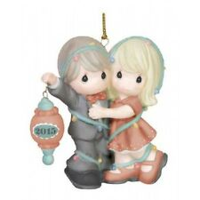 """Precious Moments """"Our First Christmas Together"""" Dated 2015 Ornament Free Ship"""