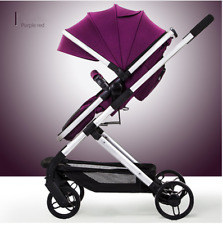 Baby Stroller 2 In 1 Stroller Lying or Sit Dampening Folding Light Weight Child