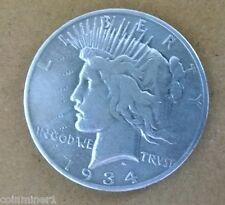 1934s Peace Dollar, Fine Details