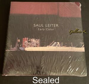 NEW SEALED SAUL LEITER EARLY COLOR STEIDL HC DJ 2019 ENGLISH EDITION- LAST ONE!