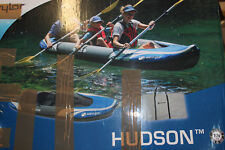 Sevylor Kanu aufblasbar Hudson- 2+1 Personen Faltkajak, Kanadier, 374 x 89 cm