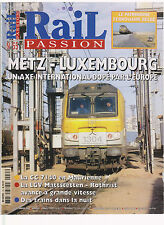 RAIL PASSION N° 55 CC 7140 MAURIENNE / TRAIN DE NUIT / METZ - LUXEMBOURG / BELGE