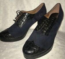 """Re-Mix Classic Vintage Deluxe """"Gramercy"""" Lace-up Oxfords - sz 9.5 NEW NO BOX!"""