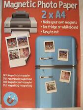 50 Blatt A4 Fotopapier magnetisch Magnetpapier matt von LabelOcean