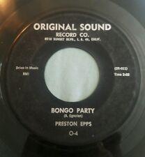 Preston Epps 45 Bongo Rock / Bongo Party Original Sound Drive in Music vg