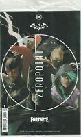 Batman Fortnite Zero Point #1 2nd Print NM DC Sealed With Harley Quinn Skin Code