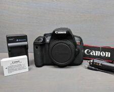 Canon EOS Rebel T4i / 650D 18.0MP Digital SLR Camera Body - 10K Clicks!