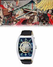 Frank Miura Men's Watch Tokunaga Ieyasu Sengoku Warlords Japan with Tracking
