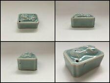 Japanese Ceramic Water Dropper Suiteki Vtg Signed Calligraphy Tool Shodo T004