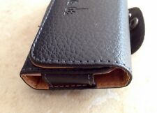 iphone 3G/4G Leather Case W/ Magnetic Closure & Belt Clip W/ Re-Enforcement Loop