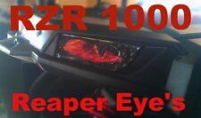 POLARIS RZR 1000 REAPER Eye's RuKindCovers HeadLight Covers  FREE RZR STICKER