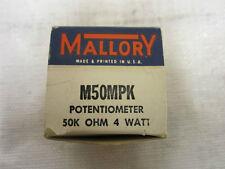 MALLORY M50MPK POTENTIOMETER 50K OHM 4WATT