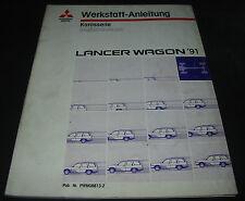 Werkstatthandbuch Mitsubishi Lancer Wagon Motor Getriebe Elektrik Kühler ab 1991
