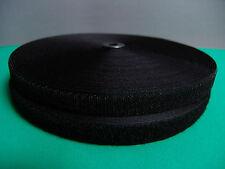 1,19-1,78€/m  Selbstklebend Klettband 20,25 mm breit  weiß, schwarz