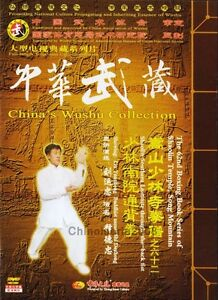 Shaolin Southern Institute through the back fist by Shi Dezhong 3DVDs