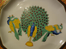 VERSACE MARCO POLO PLATE PEACOCK Rosenthal COLLECTIBLE GIFT NEW 1993 SALE