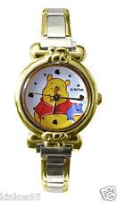 NEW Disney Winnie The Pooh Italian Charm Watch HTF