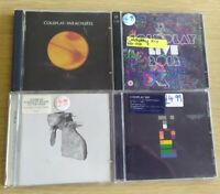 CD Album Bundlex4 Coldplay Parachutes Live 2012 Rush Of Blood To The Head X&Y