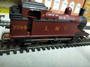 TRIANG R52 TANK LOCOMOTIVE LMS 7298 0-6-0 VGOOD SUIT HORNBY LAYOUT