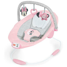 Bright Starts Minnie Mouse Rosy Skies Cradling Bouncer Baby/Infant/Girls 0m+