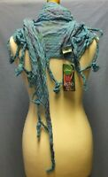 NEW COTTON ladies Dress Scarf/Shawl - LETTUCE OF LONDON - Gift Boho Hippy Goth