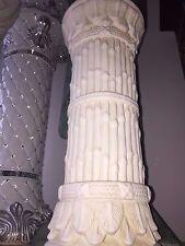 Säule Barock Bambus Geflochten Style Dekosäule Griechische Medusa Säulen 1052 70
