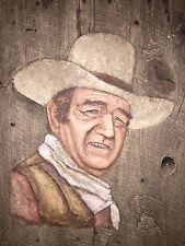 Original John Wayne Movie Prop Signed By Jari Mac Bell 1979