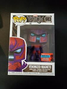 Funko POP! Marvel: Venom - Venomized Magneto (Fall Convention Exclusive)
